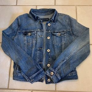 Maurices jean jacket- size small